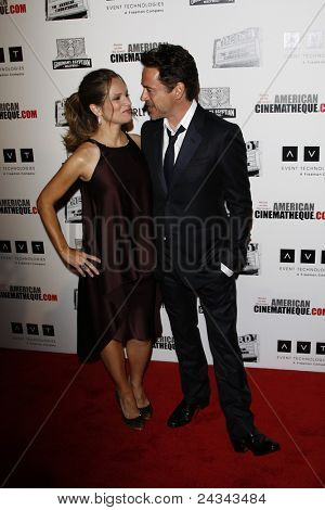 BEVERLY HILLS, CA - OCTOBER 14: Robert Downey Jr., wife Susan at the 25th American Cinematheque Award Honoring Robert Downey Jr. held at The Beverly Hilton hotel, October 14, 2011 in Beverly Hills, CA