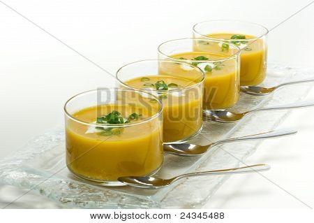 Butternut Squash Soup Appetizer