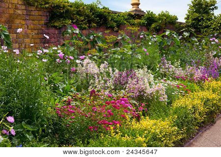 English Walled Garden