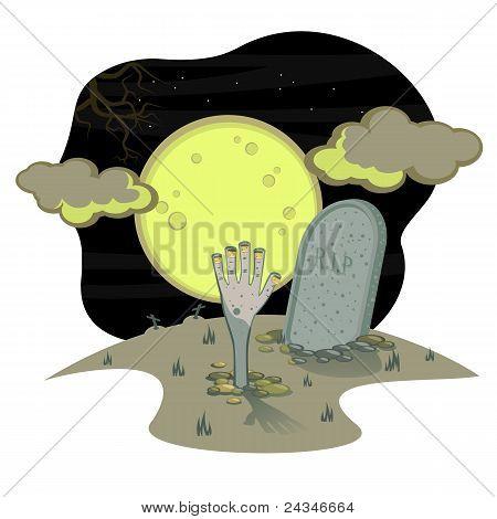 Halloweenl Grave