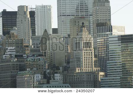 New York City At Dawn