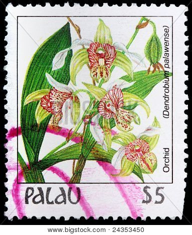 A 4-dollar Stamp Printed In Palau