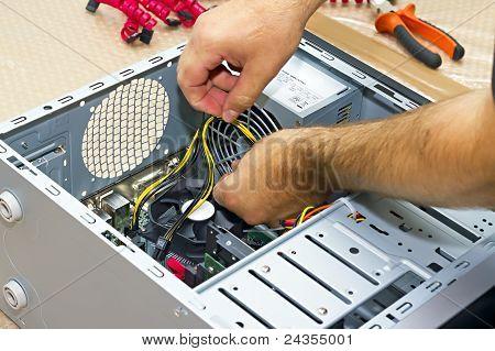 Montage eines PCs
