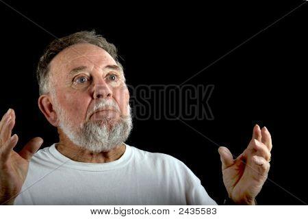 Old Man In Wonder