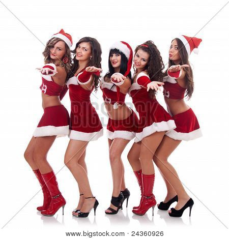 Inviting Santa Women