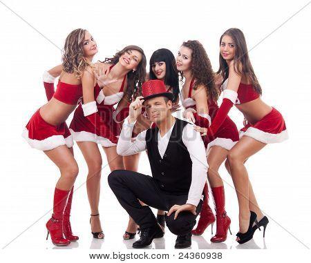 Lucky Santa Guy