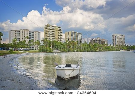 Shallow Bay & Downtown Buildings