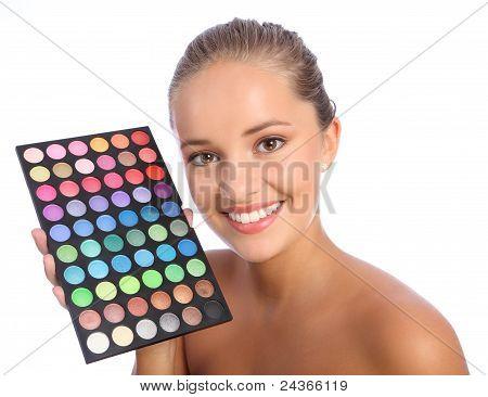 Beautiful Make Up Artist Eyeshadow Colour Palette