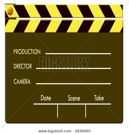 Color Film Clapboard