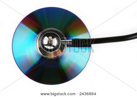 Stethoscope And Cd
