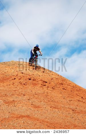 Bike Downhill On Red Hill