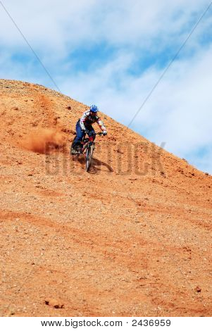 Downhill On Red Loan Hill