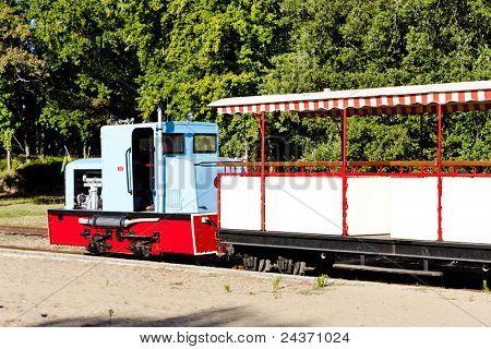 narrow gauge railway, St-Troyan-Les-Bains, Poitou-Charentes, France