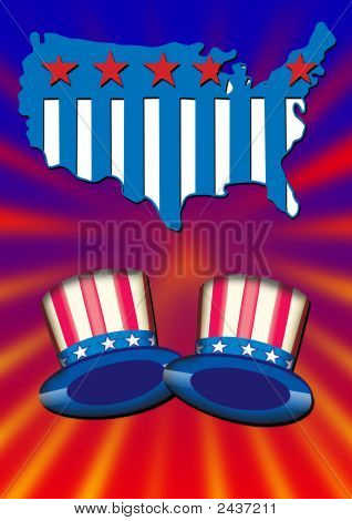 Uncle Sam Hats Poster