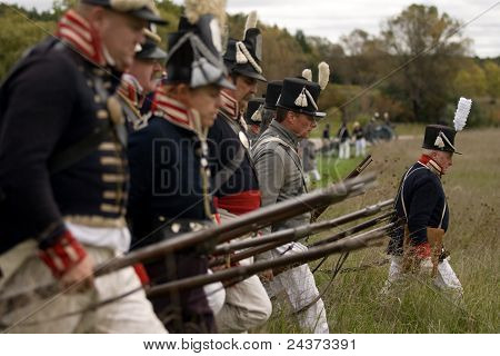 War of 1812 - Re-enactment