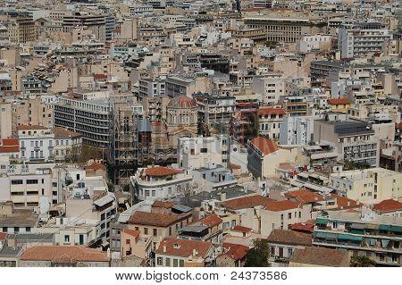 Greek city sprawl
