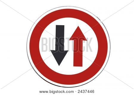 Traffic Sign - One Way Only