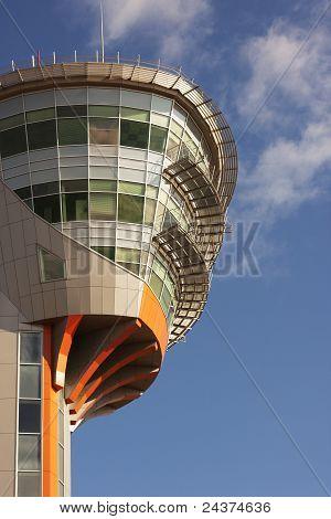 Centro de controle de Torre