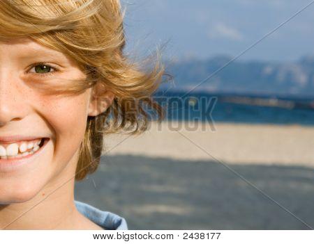 Happy Smiling Boy Child