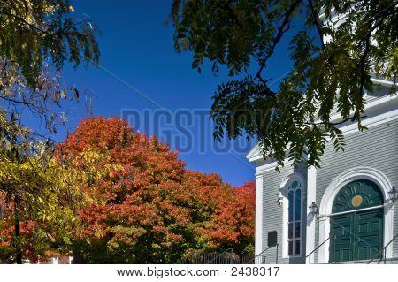 Colors Of Autumn. Concord, Ma