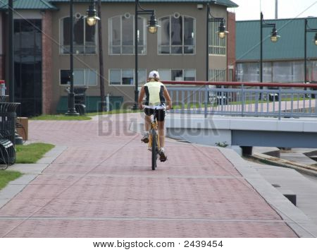 Bicycling On The River Walk
