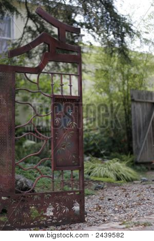 Zen Garden Gate