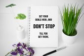 Motivational And Inspirational Quote. Business And Self Help Quote. poster