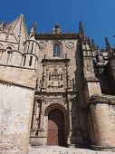 pic of ceres  - Facade of the old Cathedral facade in Plasencia - JPG