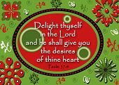 picture of bible verses  - A Bible verse design for displayiing in a 5x7 frame - JPG