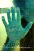 Hand Scan poster