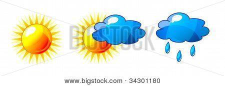 Vector Weather Set