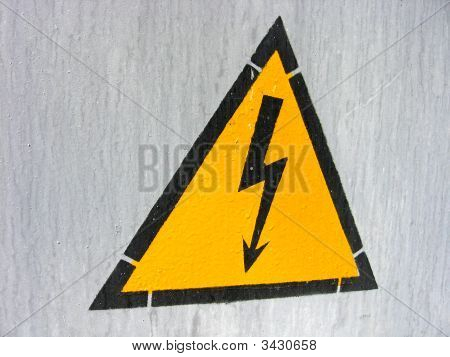 Sign Electric Danger