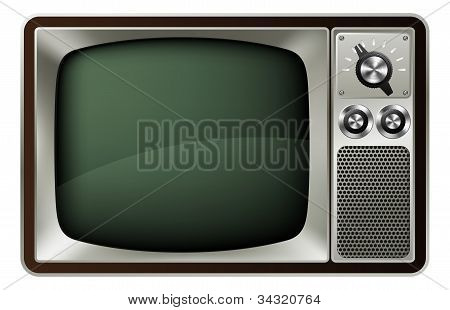 Retro Tv Illustration