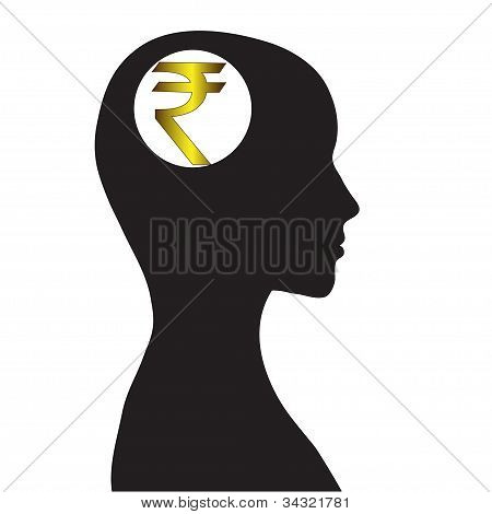 Thoughts of money, the Indian Rupee