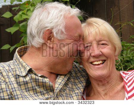 Seniors Giggling