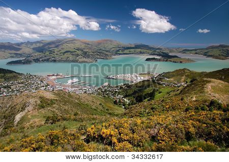 View Over Lyttelton