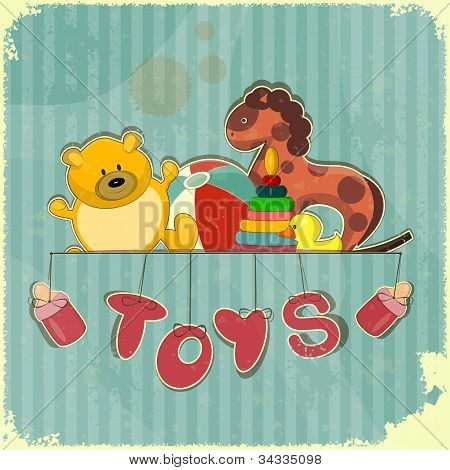 Vintage Design Toy Shop