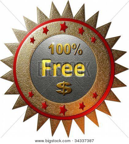 100% free $