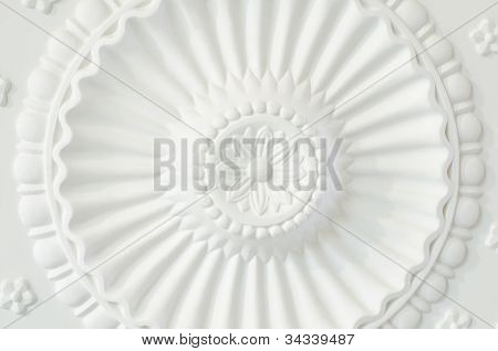 Round Ceiling Plate