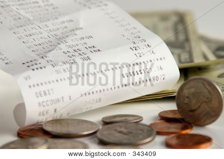 Receipt And Change