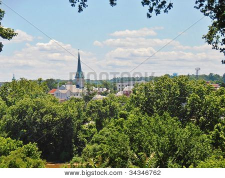 Historic Fredericksburg Skyline