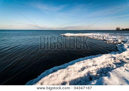 Lake Ontario In Winter