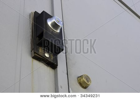 Double Dead Bolt Locks Security