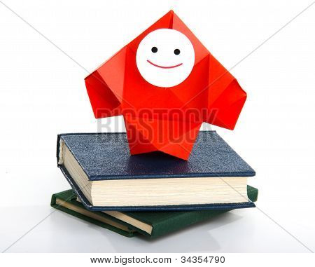 Books, studying, and information metaphor