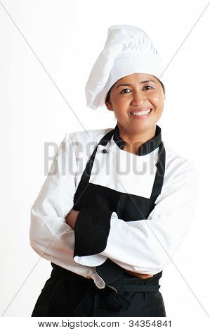 Woman As Restaurant Chef