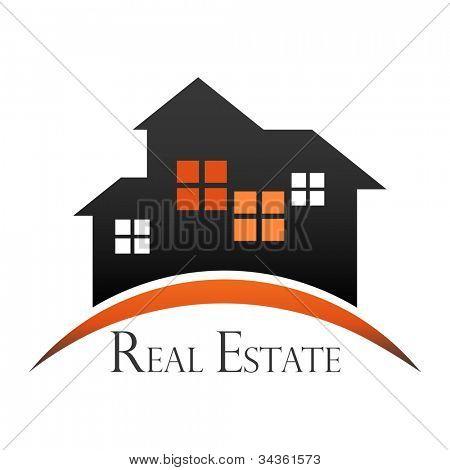 Immobilien-Design-Konzept