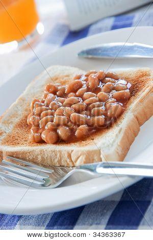 Breakfast Baked Beans