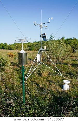Solar Power Weather Station