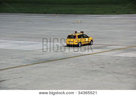 Yellow Follow Me Car