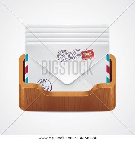 Vector mailbox icon